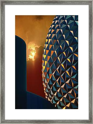 Epcot Framed Print by Kellice Swaggerty