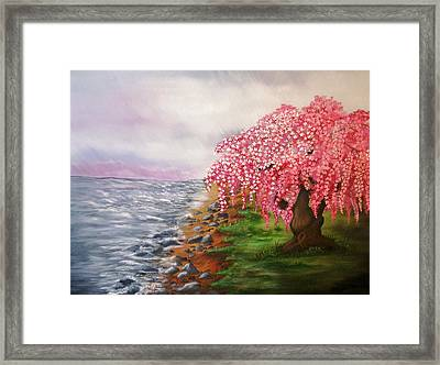 Ephemeral Nature Framed Print by Valorie Cross