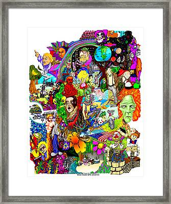 Epic 25  Framed Print