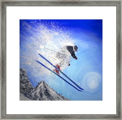 Epic Day Framed Print by Teshia Art