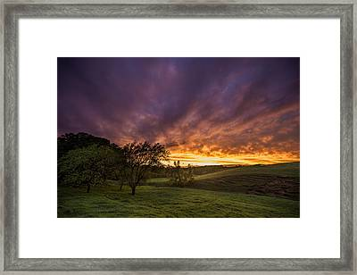 Epic Light Framed Print by Aaron J Groen