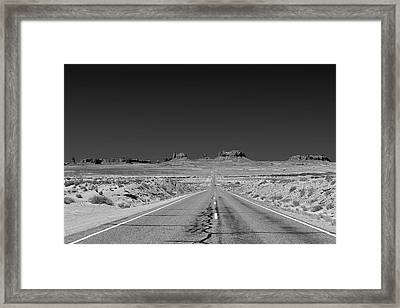 Epic Monument Valley Framed Print