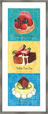 Epicerie Panel 1 Framed Print by Debbie DeWitt