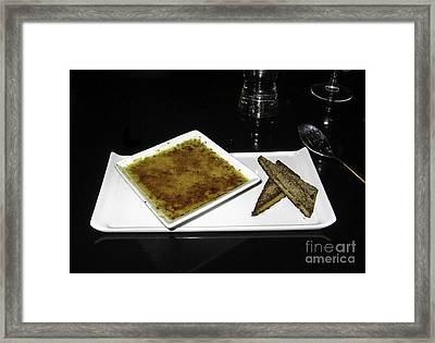 Epicurean Delight Framed Print