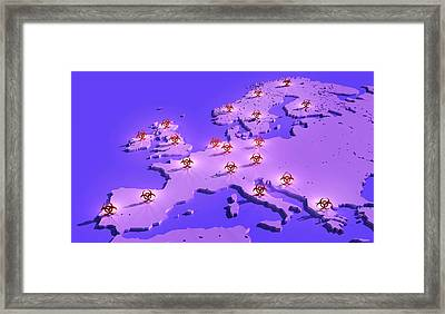 Epidemic Disease Framed Print
