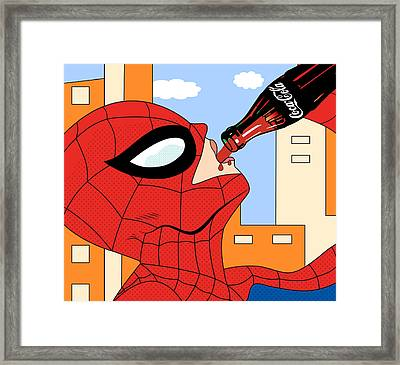 Epiderman   Framed Print by Mark Ashkenazi