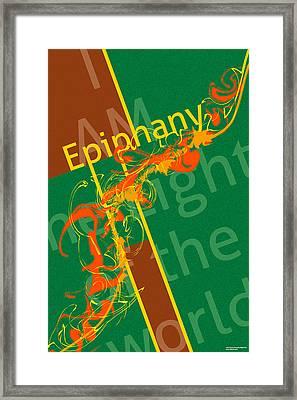 Epiphany Light Framed Print