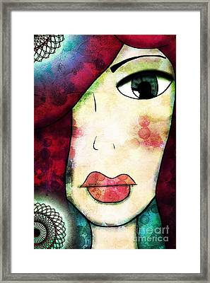 Epiphany Framed Print by Angelica Smith Bill