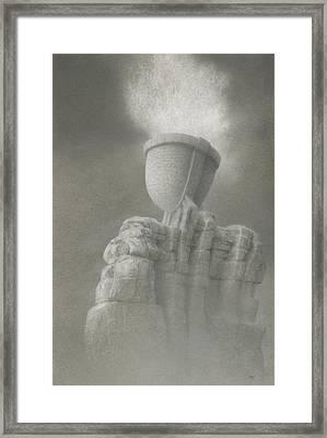Epiphany Framed Print by Mark  Reep