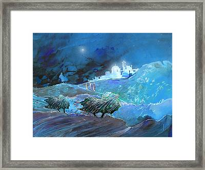 Epiphany Framed Print by Miki De Goodaboom