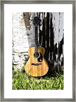 Epiphone Caballero Framed Print by Bill Cannon