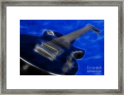Epiphone Special 2 Les Paul-9721-fractal Framed Print by Gary Gingrich Galleries