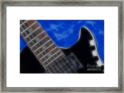 Epiphone Special Ll Les Paul-9705 Framed Print by Gary Gingrich Galleries