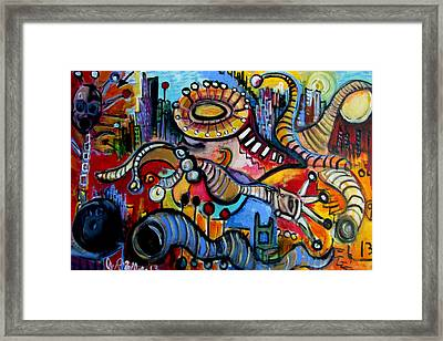 Episode Two Hundred Milligrams  Framed Print by Jon Baldwin  Art