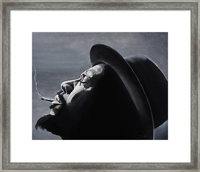 Epistrophy Framed Print