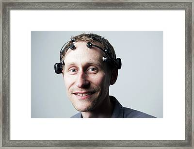 Epoc Device Framed Print by Ibm Research