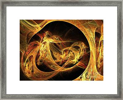 Epoch Framed Print by Kim Sy Ok