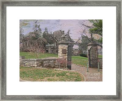 Epperson House House On The Hill Framed Print