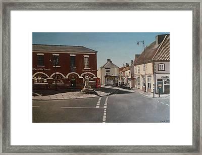 Epworth Cross Framed Print