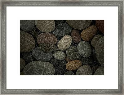Equal Parts Framed Print by Mark  Ross
