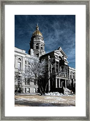 Equality State Dome Framed Print