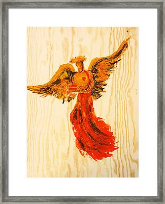 Equally Unconditional Framed Print