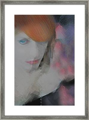 Equanimity Portrait Framed Print