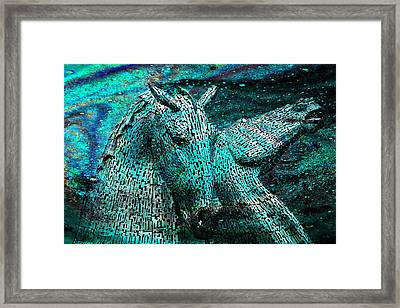 Equine Cosmos Framed Print by Mike Marsden