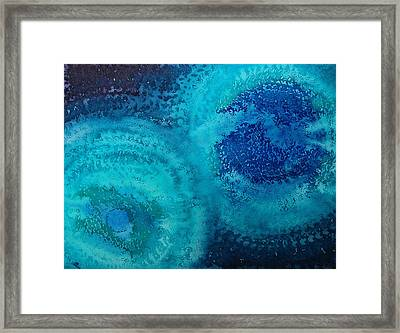 Equivalent Space Original Painting Framed Print