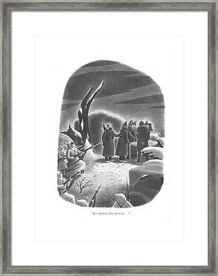 Er - Pardon Framed Print by Richard Taylor