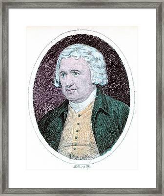 Erasmus Darwin Framed Print