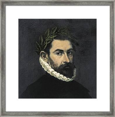 Ercilla Y Zu�iga, Alonso De 1533-1594 Framed Print by Everett