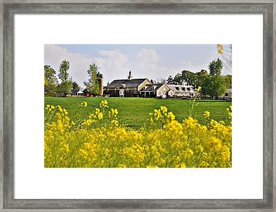 Erdenheim Farm In April Framed Print by Bill Cannon