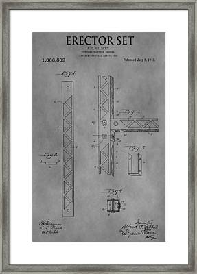 Erector Set Framed Print by Dan Sproul