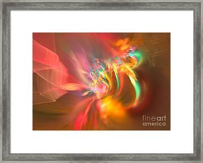 Ergo Sum Framed Print by Sipo Liimatainen