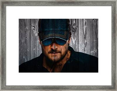 Eric Church Framed Print by Dan Sproul