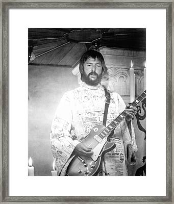 Eric Clapton In Tommy  Framed Print