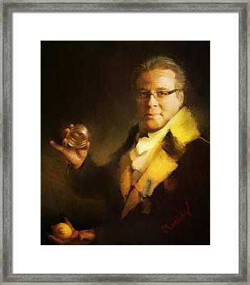 Eric Decamps Framed Print by Thomas Churchwell