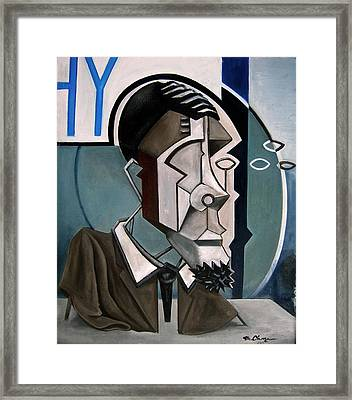 Eric Dolphy Sculptural Framed Print by Martel Chapman