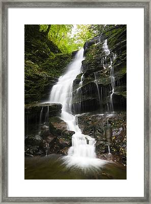 Erie Falls Framed Print