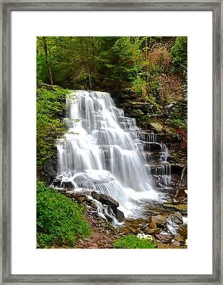 Erie Falls Framed Print