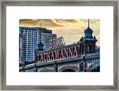 Erie Lackawanna Station Hoboken Framed Print