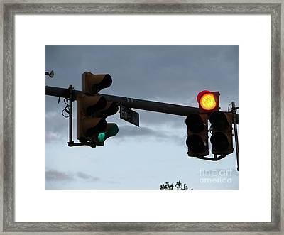 Framed Print featuring the photograph Erie Road  by Michael Krek