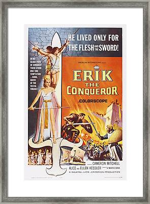 Erik The Conqueror, Us Poster Art Framed Print by Everett