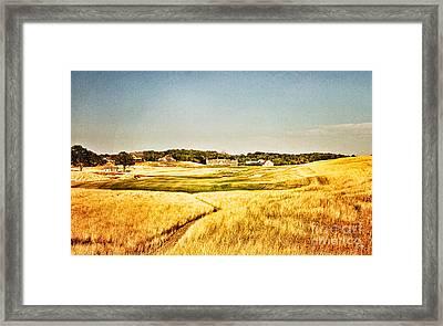 Erin Hills #18 Framed Print by Scott Pellegrin