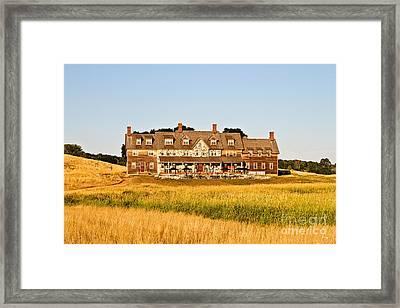 Erin Hills Clubhouse Framed Print by Scott Pellegrin