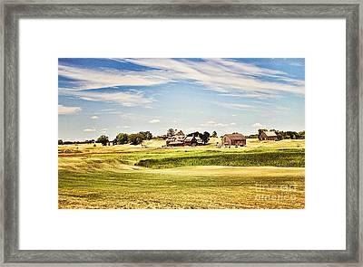 Erin Hills Framed Print by Scott Pellegrin