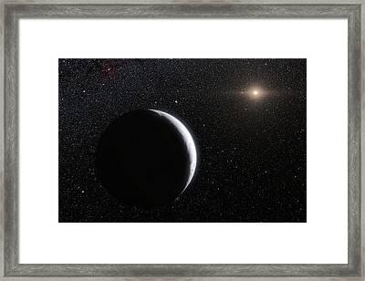 Eris Framed Print by Eso/l. Calcada