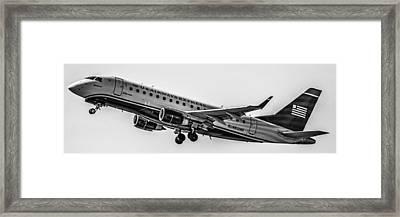 Erj-170su Framed Print