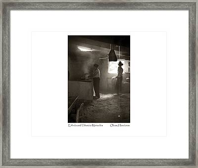Erlinda And Tiburcio Monueles Framed Print
